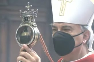 St. Januarius' Blood Liquefies for the Second Time in 2021…