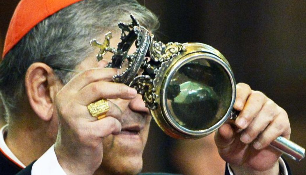 Will the blood of St. Januarius turn to liquid this Sunday?