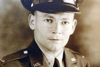 WWII hero Father Verbis Lafleur — one of St. Landry's most valiant sons…