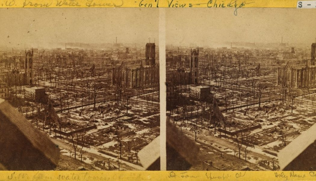 150 years ago, the Great Chicago Fire raged — and Our Lady of Good Help worked a miracle…
