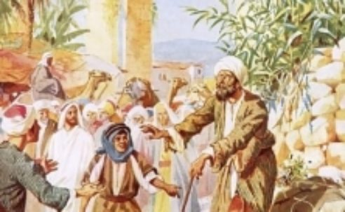 """Jesus to Bartimaeus: """"What do you want me to do for you?""""…"""