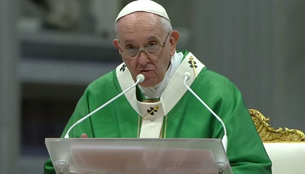 Pope Francis launches two-year 'synodal path' with Mass at St. Peter's Basilica…