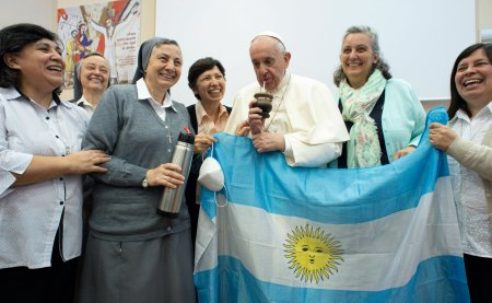 """Pope tells religious sisters: Spurn the Devil, and don't become worldly """"spinsters""""…"""